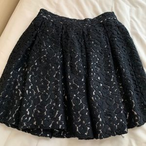 lace mini skater skirt- Elizabeth and James